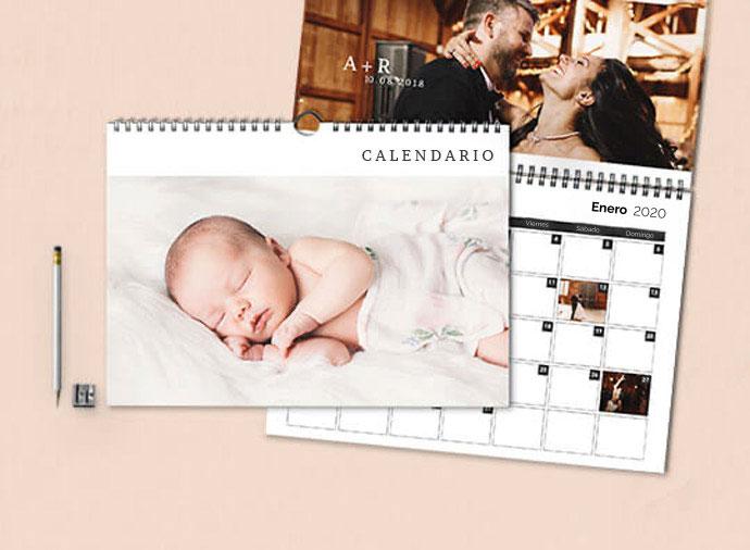 Calendarios de pared dobles