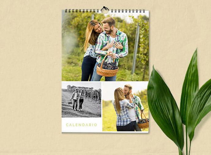 Calendarios de pared simple